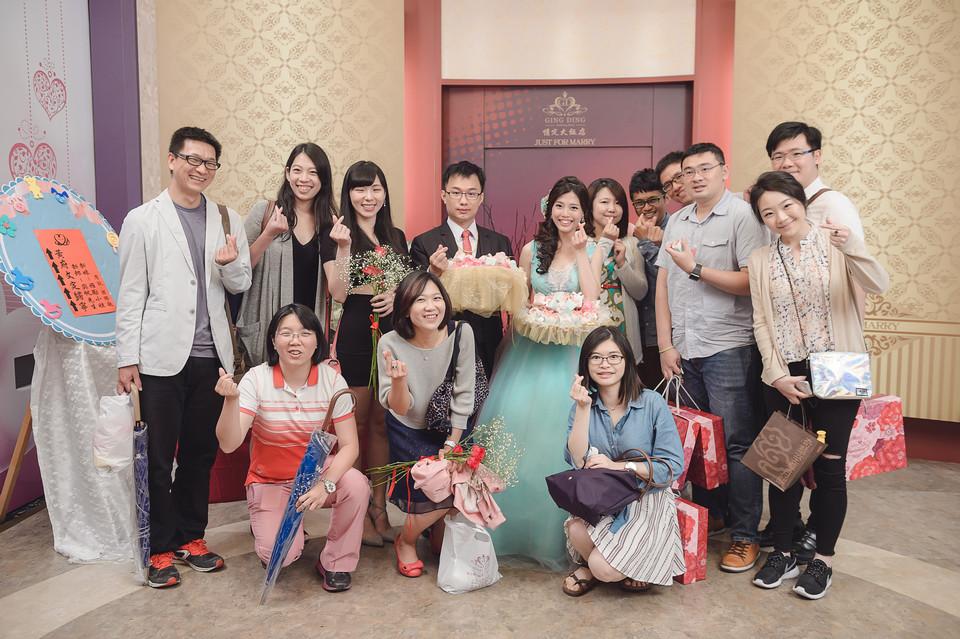 婚禮攝影-台南情定婚宴城堡永康館-91