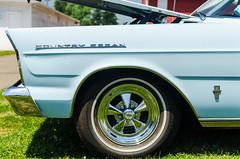 Country Sedan (GmanViz) Tags: color detail ford car wheel nikon automobile tire bumper fender badge galaxie stationwagon 1965 countrysedan gmanviz d7000