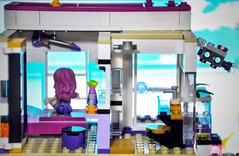 Livi stares at the beautiful sight outside her window. :-) (parik.v9906) Tags: friends house beautiful project nikon scenery view lego legos 365 minifig minifigure d90 minifigures 365days 365project legofriends