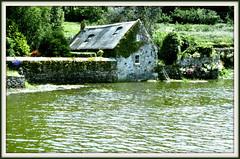 A Pont Croix (myvalleylil1) Tags: house france architecture river bretagne scan slides ria diapos pontcroix