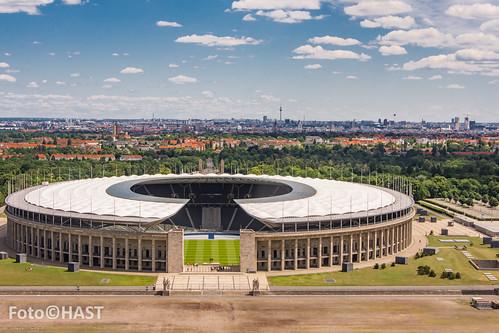 Berlijn vanuit de klokkentoren