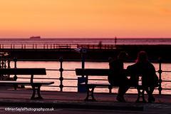 New Brighton (Brian Sayle) Tags: longexposure nightphotography sunset night dark lowlight darkness nightshot nighttime promenade romantic wallasey wirral newbrighton 6d 70200mm merseyside 200mm canonef70200mmf4l canon70200mm eos6d canon6d canoneos6d briansaylephotography briansayle