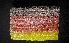 go for it guys! EM 2016: Poland - Germany (stefanfricke) Tags: germany deutschland sweet flag
