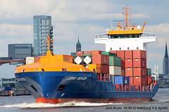 Jork Rover (andreasspoerri) Tags: hamburg containerschiff antiguabarbuda samskipexplorer damenhoogezand jorkrover imo9323467