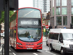Buses in London (25th May 2016) (Tobytrainspotting13) Tags: london westminster wednesday may route waterloo 25th 53 gemini stagecoach mk3 2016 ooc bg14 wrightbus 13032 tobytrainspotting13