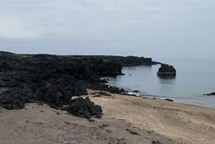 Hellissandur, Iceland (Tiphaine Rolland) Tags: ocean sea mer beach water coast iceland sand nikon eau sable côte 1855mm 1855 plage islande océan 2016 hellissandur d3000 nikond3000