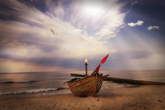 Reise ins Paradies (Plattner Rene) Tags: boot see magic insel mystik usedom mrchen magie stille paradies meckburgvorpommern