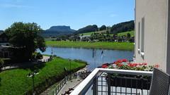 Balkonblick (klaffi60) Tags: elbe lilienstein rathen hotelelbiente