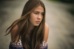 Lost in Thought (fehlfarben_bine) Tags: portrait woman naturallight nikond800 85mmf14