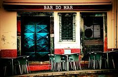 "Bar Do Mar ! (CJS*64 ""Man with a camera"") Tags: vacation food holiday colour portugal bar pub nikon chairs drink meals retro tables nikkor madeira grub nikkorlens nikond7000 18mm105mmlens craigsunter cjs64 bardomar"