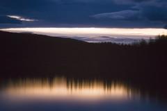 Dusk Reflection (Atmospherics) Tags: norway dusklight lakereflection dusk tones lightreflection analog tonal arcticcircle nordic northernnorway atmospherics