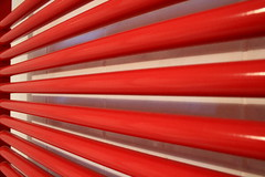 Stripes for Flickr Friday (lorenzhome) Tags: flickrfriday stripes red heating pipes