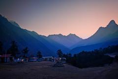 Twilight, Khumbu (Everest) region, Nepal (CamelKW) Tags: nepal twilight region khumbu everest 2016 everestpanoram