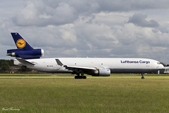 Lufthansa Cargo MD-11F D-ALCB (birrlad) Tags: shannon snn international airport ireland aircraft aviation airplane airplanes airline airliner airways airlines taxi taxiway takeoff departing departure runway mcdonnell douglas md11f lufthansa cargo freight freighter dalcb lh8162 frankfurt jfk newyork trijet