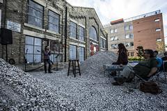 carivan (Adrian stoness) Tags: park street city urban canada art winnipeg manitoba exchange openmic