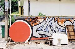 Ekkamai - Bangkok (35mm) (jcbkk1956) Tags: street streetart film wall analog 35mm thailand graffiti bangkok manual carlzeiss ekkamai contaxrts 45mmf28 worldtrekker