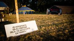 """#zad #NDDL: #NDL2015: """"45 AEROPORTS EN ALLEMAGNE - DEJA 156 AEROPORTS EN FRANCE!"""" (ValK.) Tags: nddl ndl2015 zad bpbo manifestation notredamedeslandes politique valk vinci aeroport agriculture climat collectifbonpiedbonoeil ecologie lutte nature renaturation resistance resistence resistencia social france fr"""
