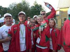 Liepaja Tennis Sport school at Latvian Olympics, July 2016