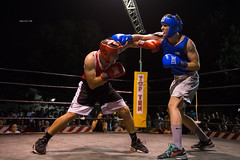 Red and blue (zizzyphotobox) Tags: sport florence fight ring boxe reallife piazzatasso