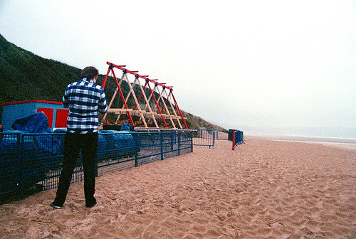 Swingboats Woolacombe Beach