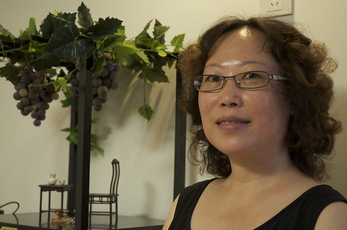 Glass Grapes: Tian Yi Chang
