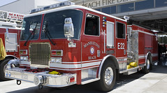 Manhattan Beach Fire Department (Code20Photog) Tags: california beach public manhattan engine safety kme apparatus pumper