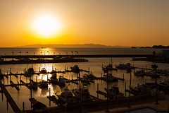 Marina (GavinZ) Tags: ocean travel sunset sea sun japan marina boat ship explore shore sail wakayama explored