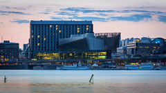 Stockholm Waterfront, Stockholm (s_p_o_c) Tags: architecture hotel office stockholm steel architect congress kontor stainless arkitektur hotell stockholmwaterfront arkitekt waterfrontbuilding whitearkitekter radissonblustockholmwaterfront zprofiles