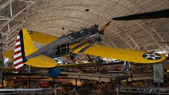 Ryan PT-22A Recruit (ST-3KR) in Udvar-Hazy Center (J.Com) Tags: usa museum virginia smithsonian airport dulles ryan aviation center udvarhazy recruit aircaft pt22 st3kr n46501 4257481