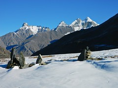 trk to Dshour lake (Sougata2013) Tags: mountain lake snow manali rohtangpass dshourlake