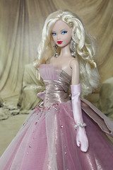 Dazzling Pink! (little dolls room) Tags: pink doll dress barbie blond barbies fashiondoll steffie barbiedoll barbie