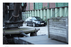 IMG_8119 (HenStu Photography) Tags: black cars car museum port canon germany eos automobile flickr hamburg m 600 bmw carbon hafen package 520 e60 520d 600d germanz carbonblack