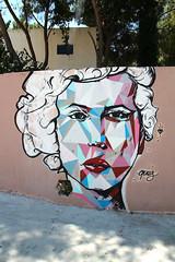Street Art | Face (Toni Kaarttinen) Tags: woman face turkey graffiti town aegean turquie trkorszg trkei turkije turquia bodrum turqua turchia ques  turkki turcja turkiet halikarnas  turcia  turkio halikarnassus