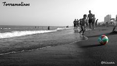 Torremolinos (blasea) Tags: andalucía playa málaga torremolinos playamar flickrandroidapp:filter=none
