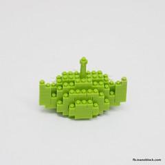 Toy Story Alien (inanoblock) Tags: movie toy lego toystory bricks alien disney pixar instructions blocks build nanoblock  nanoblocks