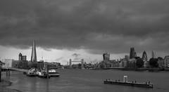 150813d60w3521 (Eric Hands) Tags: sky storm london rain thames clouds towerbridge river boats shard