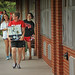Students move in to Bragaw Residence Hall.
