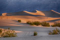 Out on the Dunes (Kathy~) Tags: mesquiteflatsanddunes sand sanddunes morning deathvalley california people thepinnaclehof tphofweek217 kanchenjungachallengewinner favescontestsweep herowinner favescontestfavored instagram