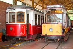 Ribeira depot (ernstkers) Tags: portugal trolley sintra tram streetcar brill tranvia elctrico tramvia strasenbahn sintra2 sintra7