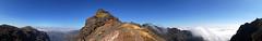 Summit of Pico do Areeiro Madeira 1818 meters (Mal B) Tags: mountains portugal walking do panoramas pico summit meters madeira miradouro highest mountins areeiro 1818 travelon5photosaday httpmalbuktumblrcom