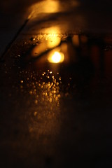 Water, Light (Gypsycait) Tags: light red colour water beautiful digital canon lens puddle eos rebel 50mm cool interesting wine florida bokeh awesome cement ground t3i sooc caitdphoto caitdphotography