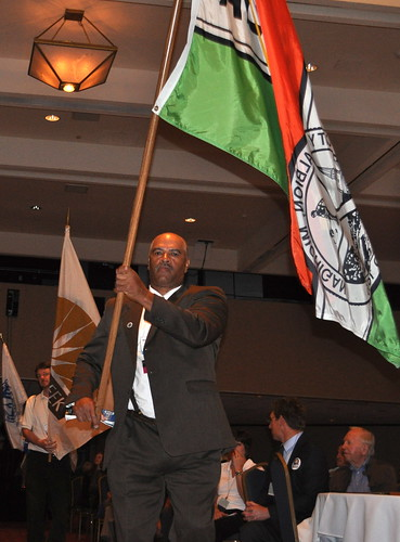 Parade of Flags Ceremony kicks off 2013 Michigan Municipal League Convention in Detroit