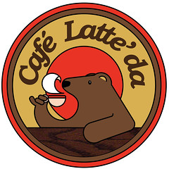 Cafe Latte' Da Logo 3
