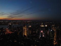 Night view from Empire State Building observatory in Manhattan, New York City, United States (dzhingarov) Tags: nyc newyorkcity usa ny newyork building night skyscraper us unitedstates midtown observatory empirestatebuilding nightview unitedstatesofanerica