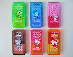 213 (alexandre laguna) Tags: hello cute eraser kitty sanrio melody kawaii erasers keroppi pochacco