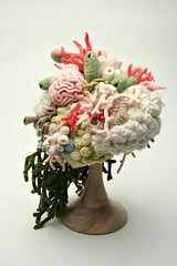 The Coral Garden Hat (gooseflesh) Tags: sculpture art hat coral garden crochet