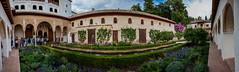 Patio Alhambra (Ivn Molina) Tags: andalucia alhambra granada