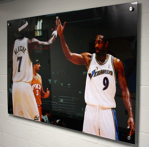 Andray Blatche and Gilbert Arenas