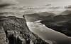 Viewing Loch Treig (seamus_0) Tags: blackandwhite landscape scotland highlands loch landscapephotographeroftheyear
