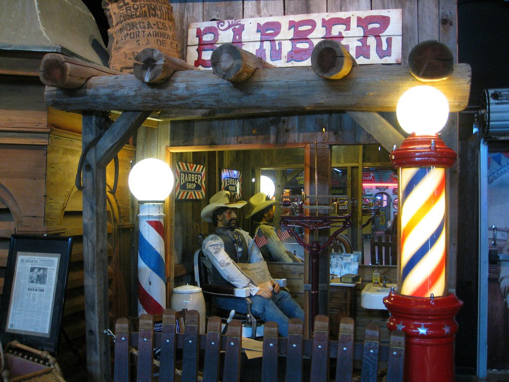Barber Shop Fresno : Barber Shop (Bob the Real Deal) Tags: old museum town cowboy ...